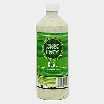 Heera Raita (Yoghurt & Mint) Sauce 1L