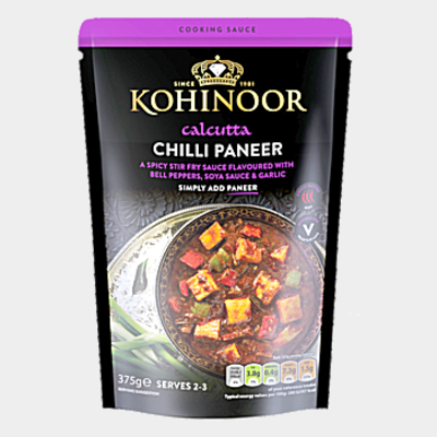 Kohinoor Chilli Paneer 375g